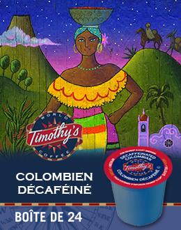 Kcup Colombien décafeine
