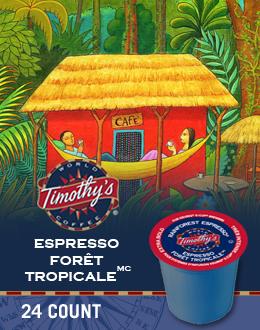 KCup Espresso forêt tropicale