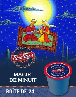 KCup Magie de minuit Timothy's