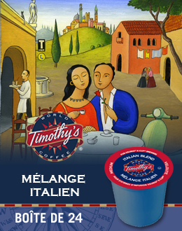KCup Café Mélange italien TImothy's