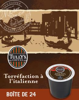 Le café Mélange italien de Tully's®