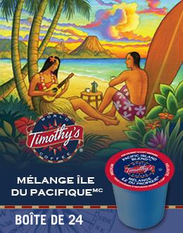 KCup Mélange île du Pacifique Timothy's
