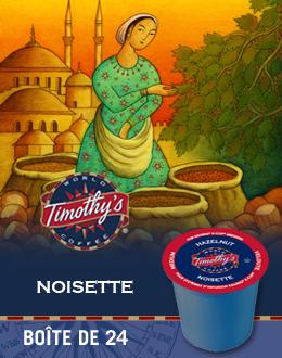 KCup Café Noisette Timothy's