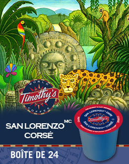 KCup San LorenzoMC corsé Timothy's