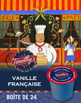 KCup Vanille française Timothy's
