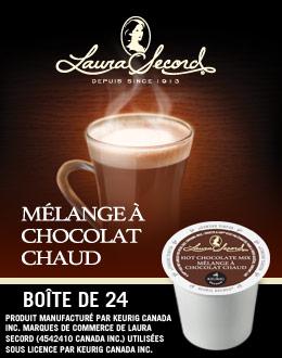 Mélange à chocolat chaud Laura Secord